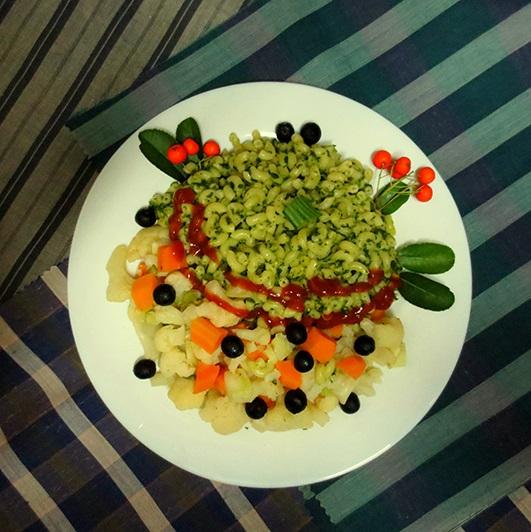 My recipe - Vegan pasta